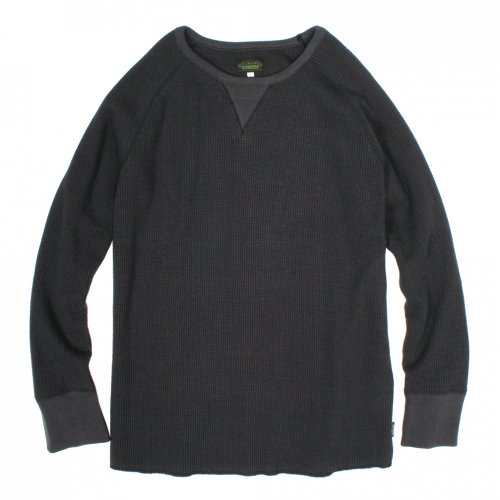 GOHEMP (ゴーヘンプ) MEN'S DAILY L/SL (CHARCOAL) GHC9126HVT