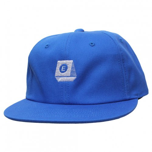 ENiGMa (エニグマ) TYPEWRITER LOGO 6 PANEL CAP (BLUE)