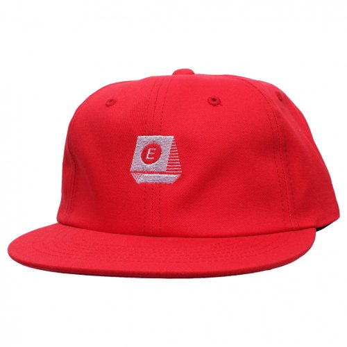 ENiGMa (エニグマ) TYPEWRITER LOGO 6 PANEL CAP (RED)