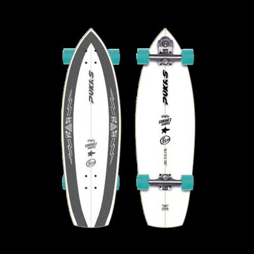 """YOW SURF SKATE ( ヤウサーフスケート ) Pukas La Loca 31.5"""" プーカス・ラ・ロカ"""