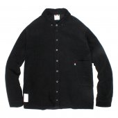 LIBE (ライブ) × REMILLA (レミーラ) L&R CORDUROY SHIRT JACKET (BLACK) 17A03