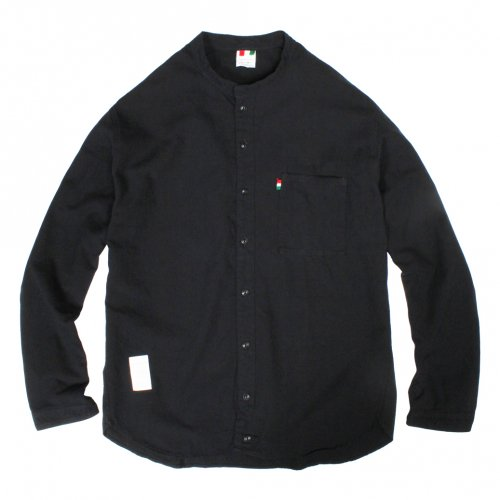 LIBE ( ライブ ) × remilla ( レミーラ ) L&R COTTON ROUND NECK SHIRTS ( BLACK ) 17A02