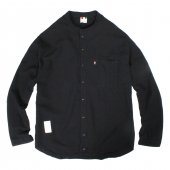 LIBE (ライブ) × REMILLA (レミーラ) L&R COTTON ROUND NECK SHIRTS (BLACK) 17A02
