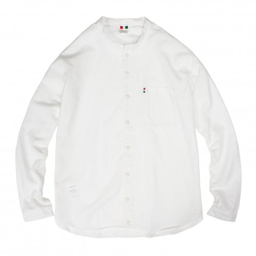LIBE (ライブ) × REMILLA ( レミーラ ) L&R COTTON ROUND NECK SHIRTS (WHITE) 17A02