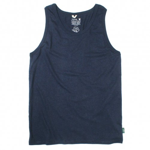 GOHEMP ( ゴーヘンプ ) タンクトップ BASIC LADY'S FINEDAY TANK TOP ( MARINE NAVY ) GHC4291RG18