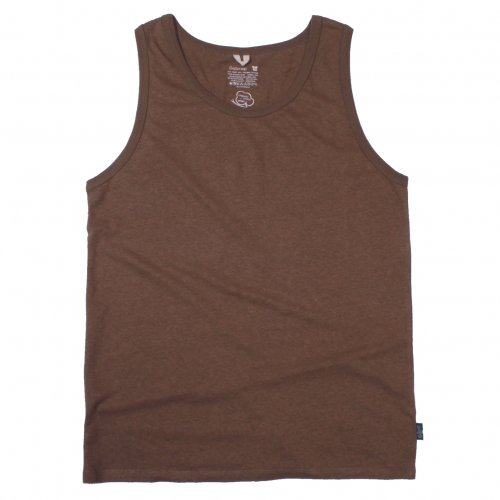 GOHEMP ( ゴーヘンプ ) タンクトップ BASIC LADY'S FINEDAY TANK TOP ( COFFEE BROWN ) GHC4291RG18