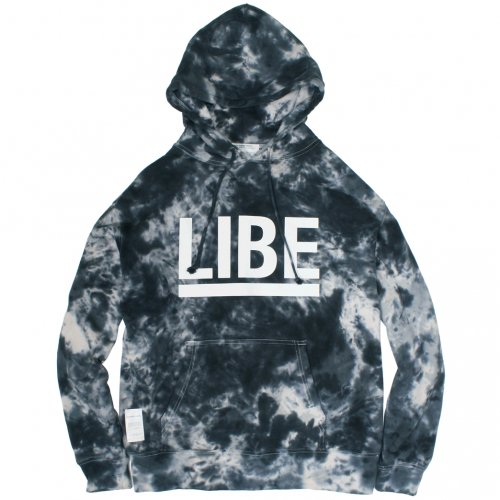 LIBE ( ライブ ) パーカー TIE DYE-17 BIG LOGO PARKER ( MOONLIGHT CAMO ) 17A04