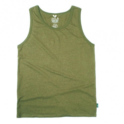 GOHEMP ( ゴーヘンプ ) タンクトップ BASIC LADY'S FINEDAY TANK TOP ( OLIVE GREEN ) GHC4291RG18
