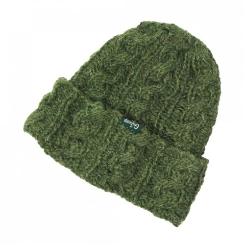 GOHEMP (ゴーヘンプ) MIX CABLE WATCH CAP (GREEN) GHG0414HPH