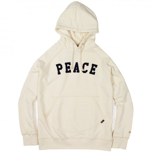 "GOHEMP (ゴーヘンプ) MEN'S ""PEACE"" PULL PARKA (NATURAL) GHC2073PEC"
