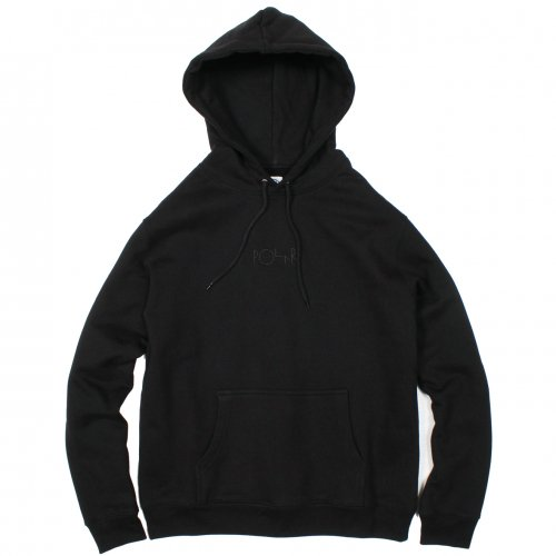 POLAR (ポーラー) HEAVYWEIGHT HOOD (BLACK)
