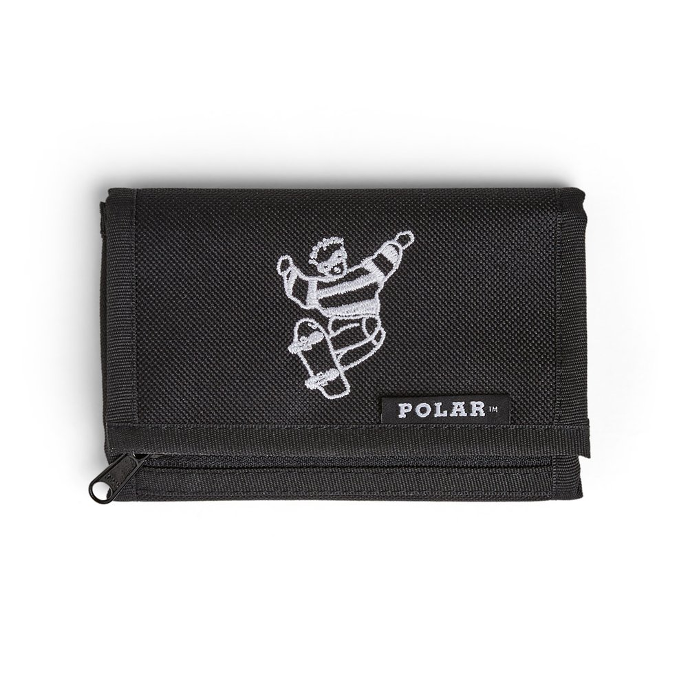 POLAR SKATE CO. ( ポーラー ) 財布 CORDURA WALLET ( BLACK )