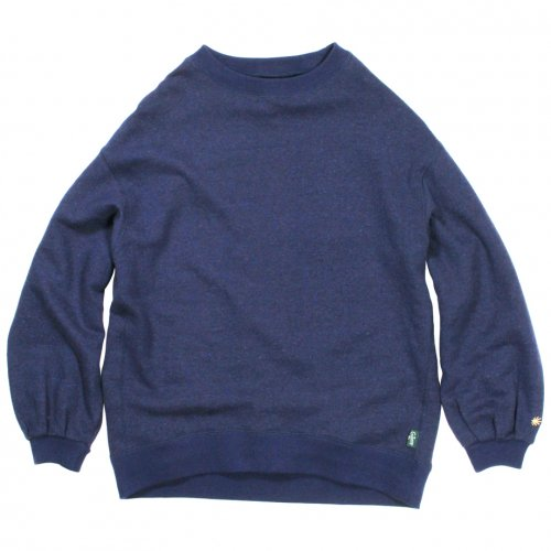 GOHEMP ( ゴーヘンプ ) LADY'S PUMPKIN SLEEVE ( JAPAN BLUE ) GHC4459BS18-3