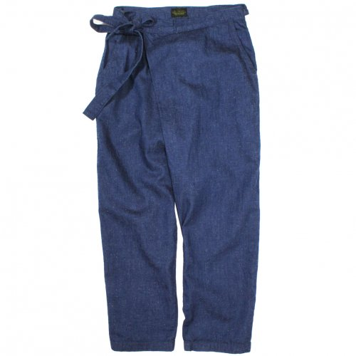 GOHEMP ( ゴーヘンプ ) パンツ LADY'S WRAP JOINT PANTS GHP1123SNG