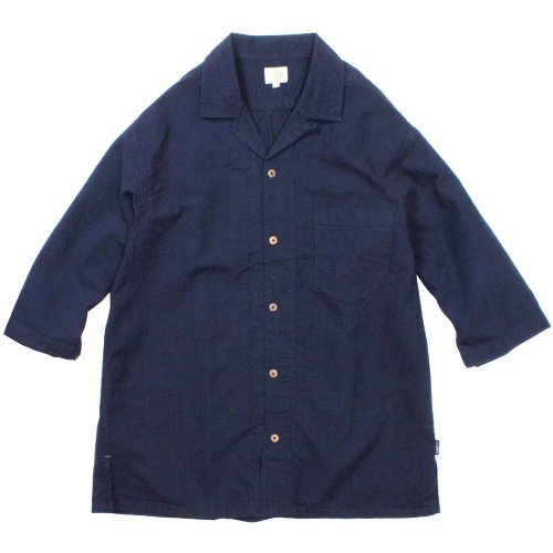 GOHEMP ( ゴーヘンプ ) シャツ MEN'S SHITAMACHI SHIRTS ( SUCKER ) GHS3065MSH