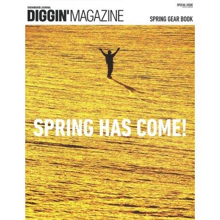 「DIGGIN'MAGAZINE SPRING GEAR BOOK」雑誌