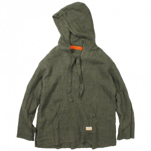 GOWEST ( ゴーウエスト ) MEN'S TACOS PARKA / LINEN HERRINGBONE ( OLIVE ) GWS3067LHT<img class='new_mark_img2' src='//img.shop-pro.jp/img/new/icons22.gif' style='border:none;display:inline;margin:0px;padding:0px;width:auto;' />