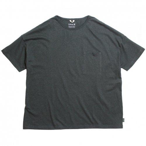 GOHEMP ( ゴーヘンプ ) ワイドポケットTシャツ BASIC MEN'S WIDE PK TEE ( GUNMETAL GRAY ) GHC4290RG