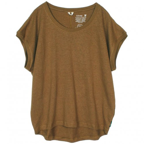 GOHEMP ( ゴーヘンプ ) サニーラウンドTシャツ BASIC LADY'S SUNNY ROUND TEE ( FIELD WOOD ) GHC4252RG