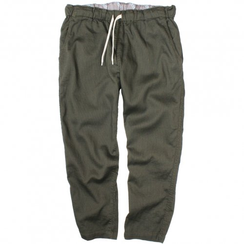 GOWEST (ゴーウエスト) MEN'S E.G.PANTS / DUSTY PIQUE (ARMY GREEN) GWP1114SFD