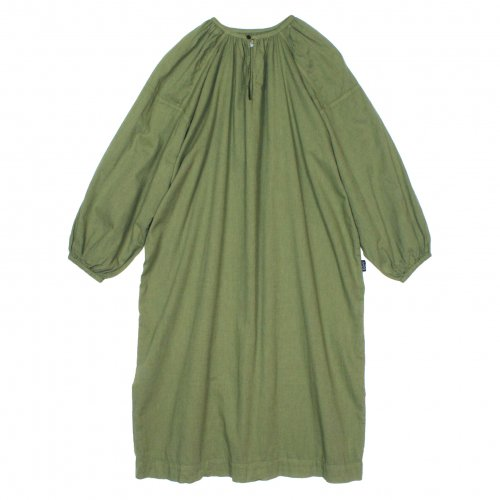 GOHEMP ( ゴーヘンプ ) ワンピース LADY'S AMISH OP ( KALE GREEN ) GHO7112GDY
