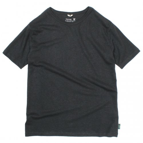 GOHEMP ( ゴーヘンプ ) Tシャツ BASIC MEN'S S/SL TEE ( GUNMETAL GRAY ) GHC4200RG18