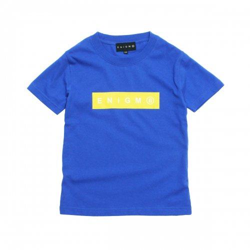 ENiGMa ( エニグマ ) キッズTシャツ BOX LOGO KIDS T-SHIRTS ( BLUE )