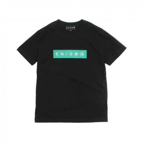 ENiGMa ( エニグマ ) キッズTシャツ BOX LOGO KIDS T-SHIRTS ( BLACK )