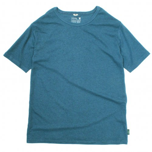 GOHEMP ( ゴーヘンプ ) Tシャツ BASIC MEN'S S/SL TEE ( NIAGARA BLUE ) GHC4200RG18