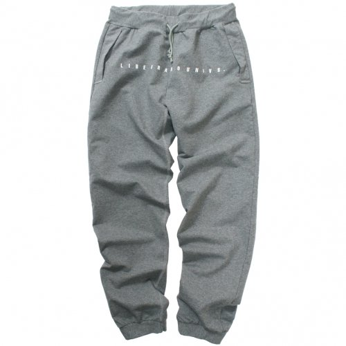 LIBE ( ライブ ) × REMILLA ( レミーラ ) スウェットパンツ L&R SWEAT BULLET PANTS ( HEATHER GREY ) 18S18
