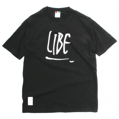 LIBE ( ライブ ) Tシャツ ROUGH LOGO TEE ( BLACK ) 18S25
