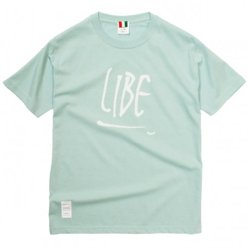 LIBE ( ライブ ) Tシャツ ROUGH LOGO TEE ( LIGHT BLUE ) 18S25