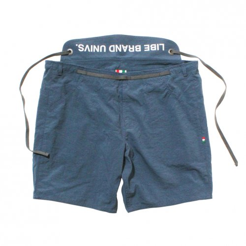 LIBE ( ライブ ) × REMILLA ( レミーラ ) ショートパンツ L&R WAIST BELT SHORTS ( SMOKE BLUE ) 18S19