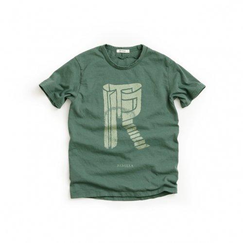 remilla ( レミーラ ) キッズTシャツ KID'S R TEE ( サンドグリーン ) R8-0202