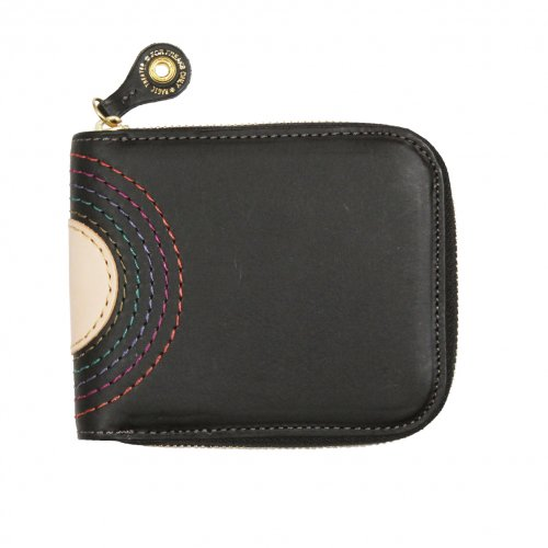 MAGIC THEATER ( マジックシアター ) 財布 RAINBOW 22°HALO 14 ZIP SLIM PURSE (BLACK)