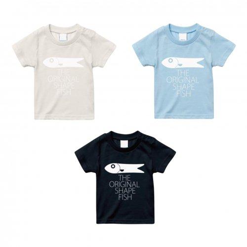 GENTEMSTICK ( ゲンテンスティック ) Tシャツ KIDS'S FISH TEE