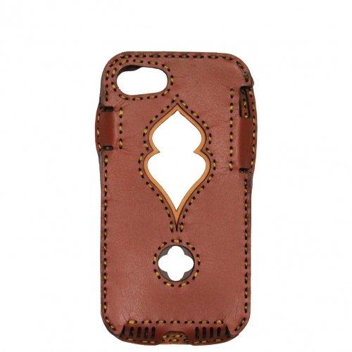 OJAGA DESIGN ( オジャガデザイン ) iPhone7/8用ケース PAFURI (ブラウニーMIX1)