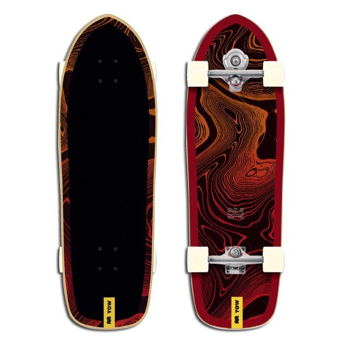 YOW SURF SKATE ( ヤウサーフスケート ) LA SANTA 33