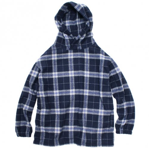 Nasngwam ( ナスングワム ) COUNTRY PULL CHECK ( NAVY ) S3069102