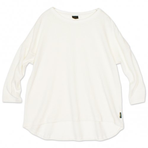 GOHEMP ( ゴーヘンプ ) LADY'S ROUND LOOSE TEE ( NATURAL ) GHC4452HPJ18-2