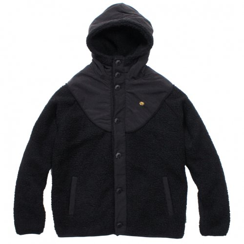 GOHEMP ( ゴーヘンプ ) ジャケット MEN'S MONGOLIAN HOODY JACKET ( BLACK ) GHJ5000BAJ