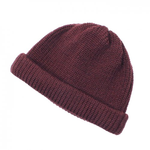 remilla ( レミーラ ) 畦ニット帽 (ボルドブラウン) R8-3431