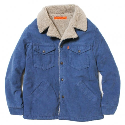 GOWEST ( ゴーウエスト ) ジャケット MEN'S BOA RANCH JACKET ( BLUE ) GWJ6072CSW