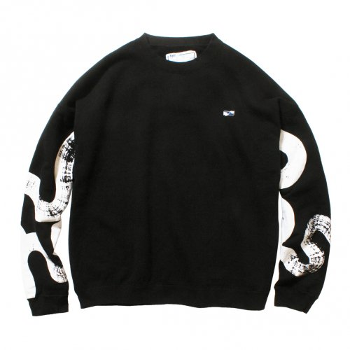 THE UNION ( ザユニオン ) スウェット UNSMERT SWEAT / KAMI Collaboration ( BLACK )