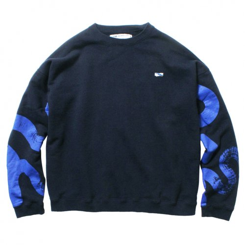 THE UNION ( ザユニオン ) スウェット UNSMERT SWEAT / KAMI Collaboration ( NAVY )