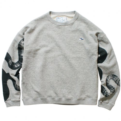 THE UNION ( ザユニオン ) スウェット UNSMERT SWEAT / KAMI Collaboration ( GRAY )