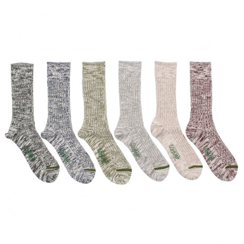 GOHEMP ( ゴーヘンプ ) ソックス ORGANIC COTTON × HEMP PILE CREW SOCKS GHG0010GLL