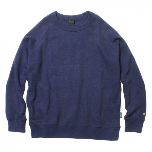 GOHEMP ( ゴーヘンプ ) MEN'S CREW PK SWEAT ( JAPAN BLUE ) GHC4421BS18-2