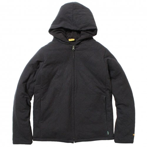 GOHEMP ( ゴーヘンプ ) パーカー MEN'S QUILT ZIP PARKA ( GUNMETAL GRAY ) GHJ6092HJD