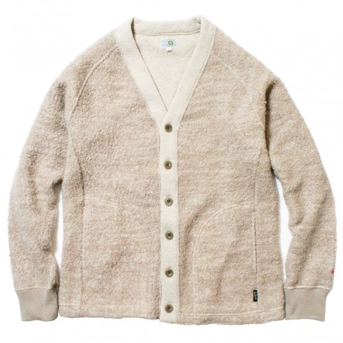 GOHEMP ( ゴーヘンプ ) LADY'S FINDAY CARDIE ( BEIGE ) GHC9133PRY